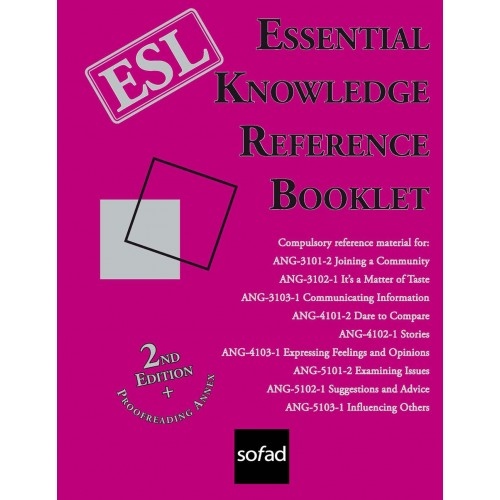 Essential Knowledge Reference Booklet – 2nd Edition