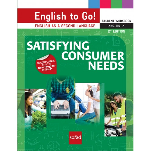 ANG-1101-4 Satisfying consumer needs – 2nd Edition