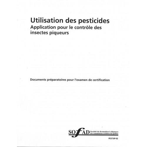 Pesticides – Application pour le contrôle des insectes piqueurs