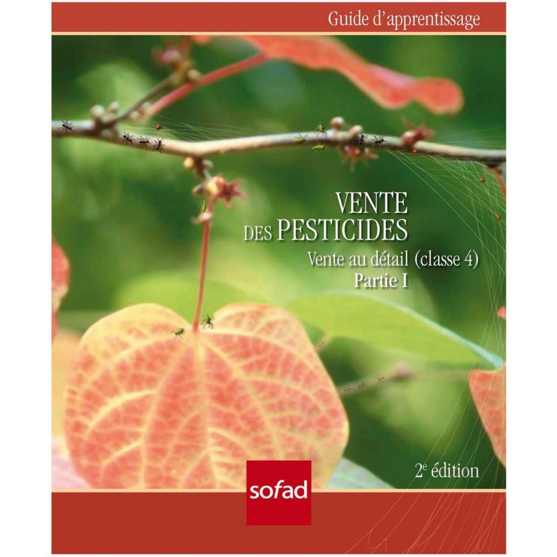 Pesticides – Vente au détail (classe 4) Partie I