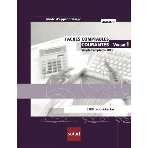 460-078 – Tâches comptables courantes – Simple Comptable 2011