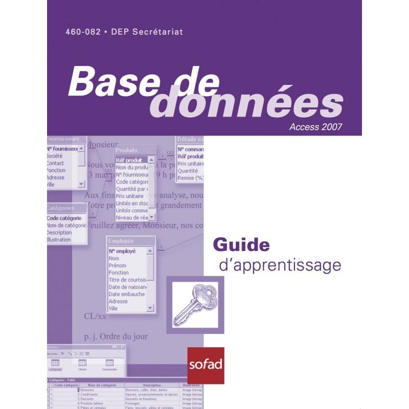 460-082 – Base de données – Access 2007