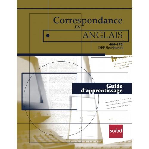 460-176 – Correspondance en anglais