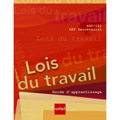 460-182 - Lois du travail
