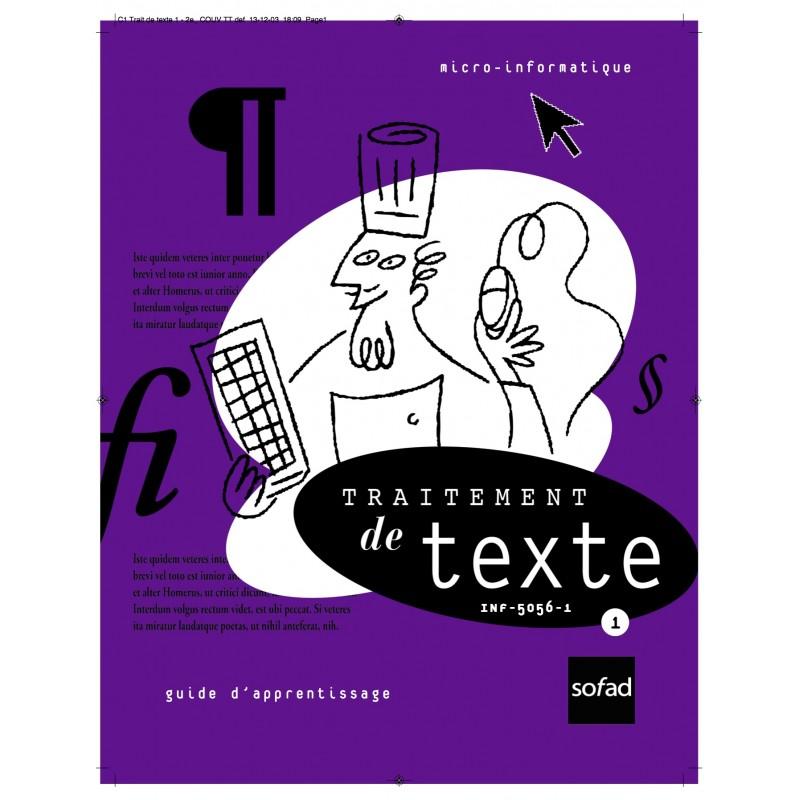 INF-5056-1 – Traitement de texte 1 – 2e édition