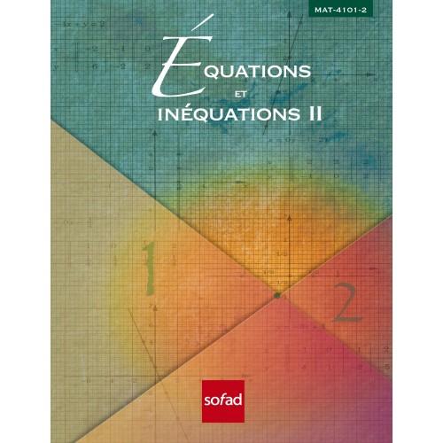 MAT-4101-2 – Équations et inéquations II