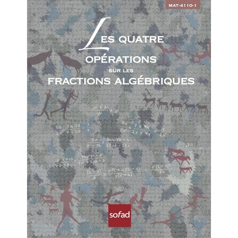 MAT-4110-1 – Les quatre opérations sur les fractions algébriques