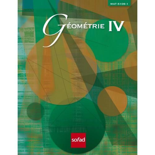 MAT-5109-1 – Géométrie IV