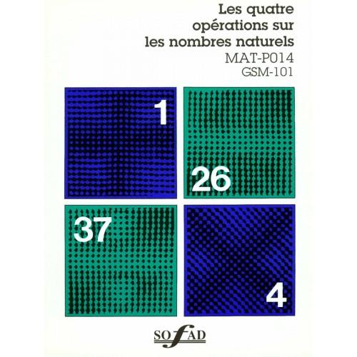 MAT-P014 – Les quatre opérations sur les nombres naturels