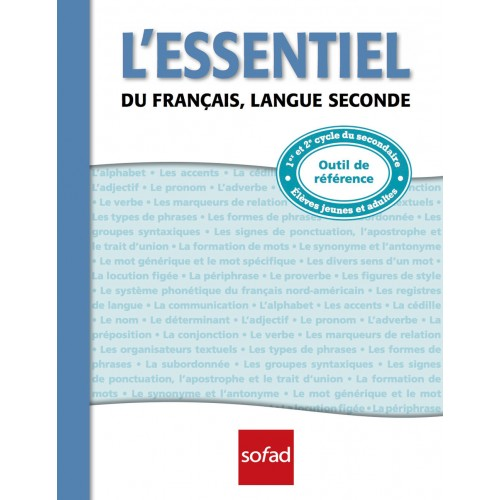L'essentiel du français, langue seconde, 136 p. (7-6115-04)