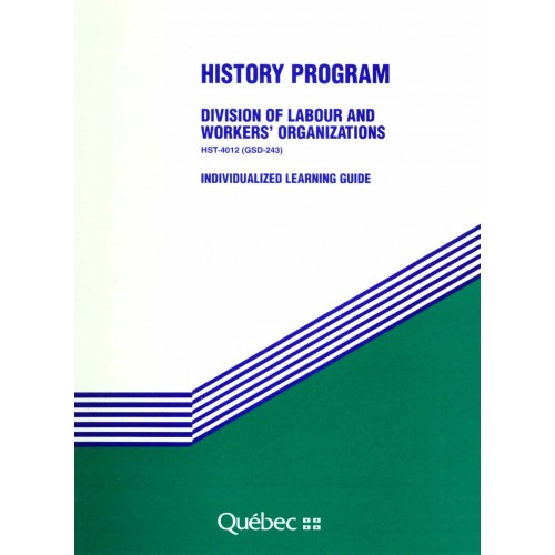 HST-4012-2 – Division of Labour and Workers' Organizations