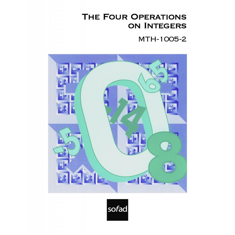 MTH-1005-2 – The Four Operations on Integers