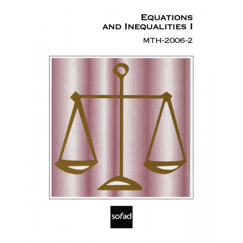 MTH-2006-2 – Equations and Inequalities I