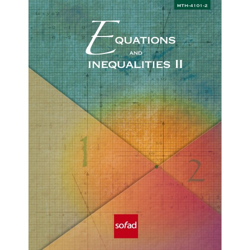 MTH-4101-2 – Equations and Inequalities II