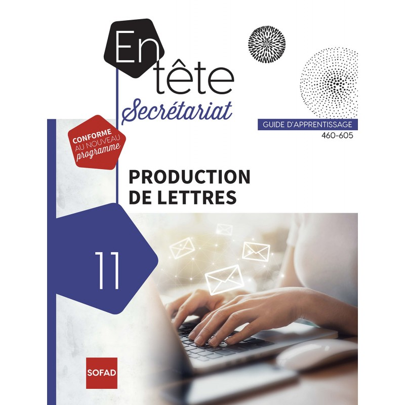 460-605 – Production de lettres