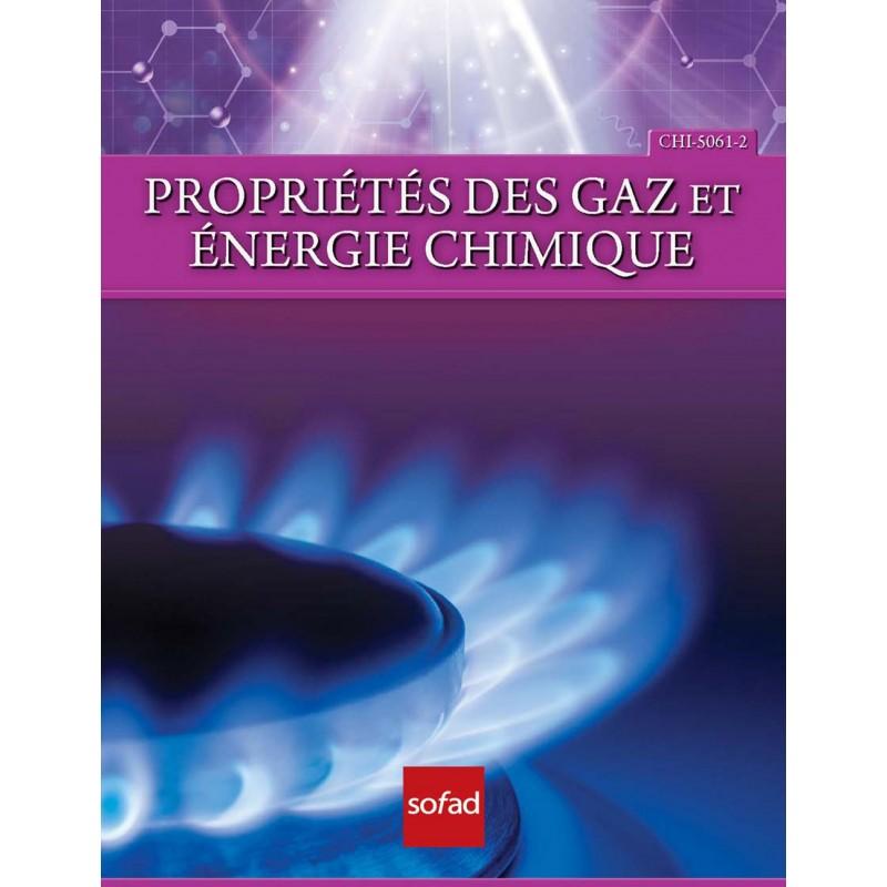 CHI-5061-2 – Propriétés des gaz et énergie chimique