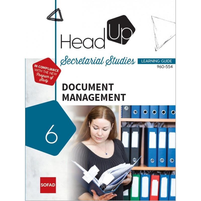 960-554 – Document Management