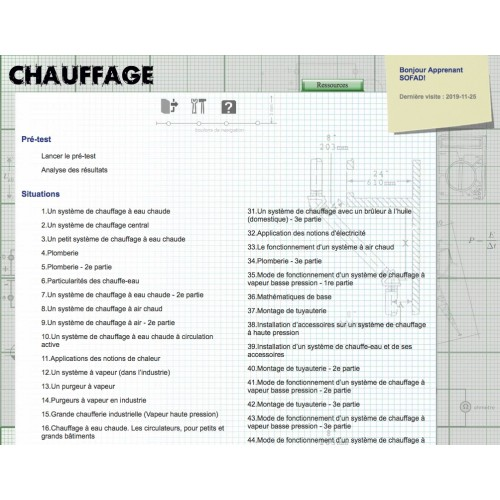Certificat en chauffage (CC)