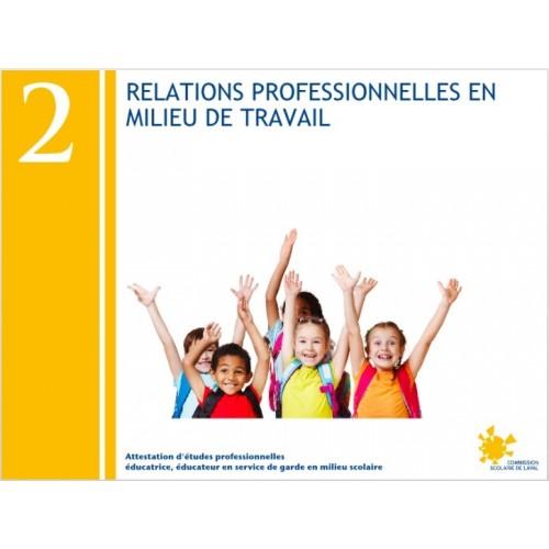 Compétence 02 - Relations professionnelles en milieu de travail (AEP232022)
