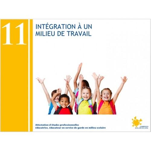Compétence 11 - Intégration à un service de garde en milieu scolaire (AEP232113)