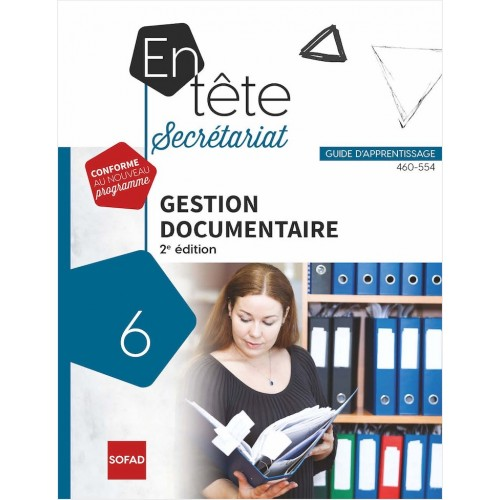 460-554 – Gestion documentaire – 2 édition