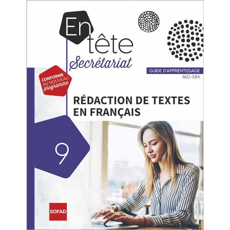 460-584 – Rédaction de textes en français